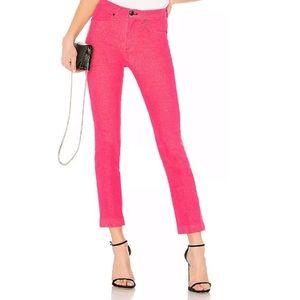 Rag & Bone Ankle Cigarette Jean in Bull Pink sz 26